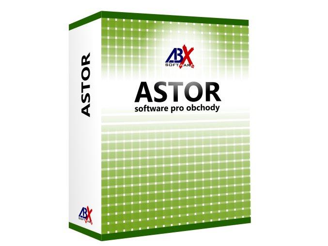 ABX Astor GOLD pokladní skladový software pro obchody