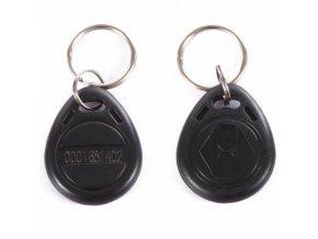 """EM 4102 černá RFID Bezkontaktní přívěsek """"klíčenka"""""""