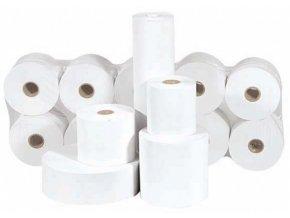Papírové kotoučky 76/70/12mm, velký návin, průměr 7cm (pro jehličkové tiskárny)